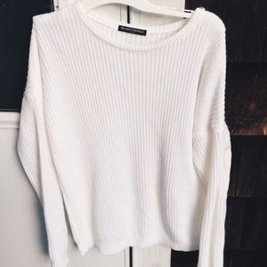 Brandy Melville Cream Ollie sweater